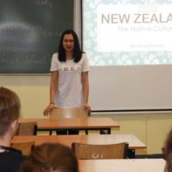 AIESEC kontakt z studentami...