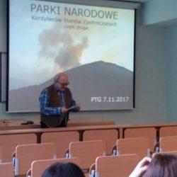 Wykład w Instytucie Geografii i Gospodarki Przestrzennej UJ